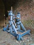Старый деревянный ворот замка Стоковые Изображения