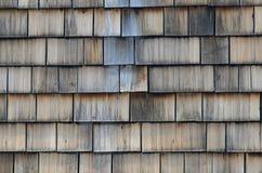 Старый деревянный гонт Стоковое Изображение RF