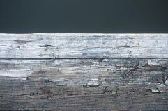 Старый деревянный док на озере Стоковое фото RF