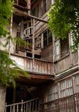 Старый деревянный дом Стоковое фото RF