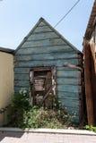 Старый деревянный сарай Стоковое Изображение
