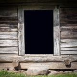Старый деревянный сарай Стоковые Изображения RF