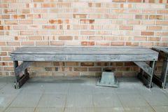 Старый деревянный стенд Стоковая Фотография