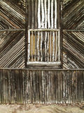Старый деревянный фасад Стоковая Фотография RF