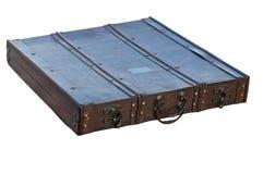 Старый деревянный чемодан Стоковые Изображения
