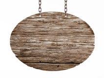 Старый деревянный шильдик бесплатная иллюстрация