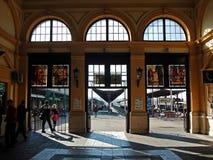 Старый железнодорожный вокзал в Белграде стоковое изображение