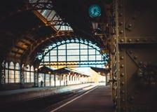 Старый железнодорожный вокзал стоковые фото