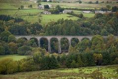 старый железнодорожный каменный viaduct Стоковое фото RF