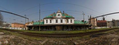 Старый железнодорожный вокзал Стоковая Фотография