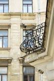 Старый железный балкон Стоковая Фотография RF