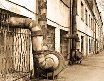 старый завод Стоковая Фотография