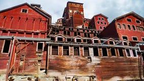 Старый завод мельницы Стоковая Фотография