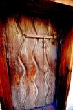 Старый загадочный вход Стоковая Фотография