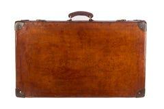 Старый закрытый чемодан Стоковое фото RF