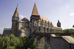 Старый замок в Transylvania - Румынии Стоковое Изображение RF