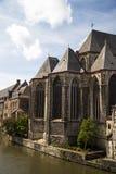 Старый замок Гент Бельгия Стоковое фото RF
