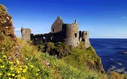 Старый замок Северная Ирландия Стоковое фото RF