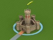 Старый замок Стоковые Фото