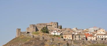 Старый замок Melfi Стоковые Изображения RF