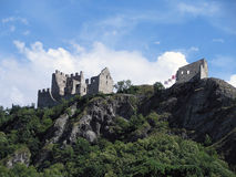 Старый замок Tourbillon в Швейцарии Стоковое фото RF