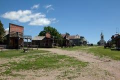 Старый западный городок Стоковые Изображения RF