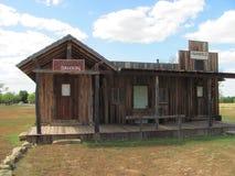 Старый западный салон Стоковые Фото