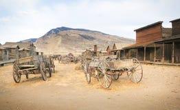 Старый западный, старый городок следа, Коди, Вайоминг, Соединенные Штаты Стоковые Фотографии RF