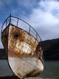 старый заржаветый корабль Стоковая Фотография RF