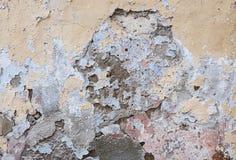 Старый заштукатуренный конспект стены Стоковое Изображение RF