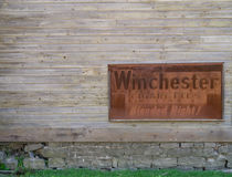Старый знак сигарет Winchester Стоковые Изображения RF