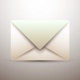 Старый значок почты - иллюстрация Стоковая Фотография RF