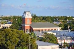 Старый здание муниципалитет в Key West, Флориде Стоковые Фото