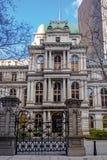 Старый здание муниципалитет - Бостон, Массачусетс, США Стоковое Изображение RF