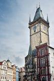 Старый здание муниципалитет Праги Стоковое Фото
