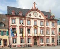 Старый здание муниципалитет (1741), Offenburg, Германия Стоковое фото RF