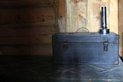 Старый инструмент ящика Стоковая Фотография RF