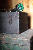 Старый инструмент ящика Стоковое Изображение RF