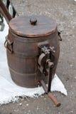 Старый инструмент для того чтобы сделать масло Стоковые Изображения RF