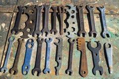 старый инструмент Стоковое Изображение