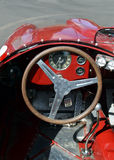 Старый интерьер автомобиля Стоковые Изображения RF