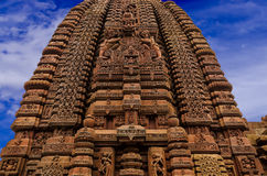 Старый индийский висок Стоковое фото RF
