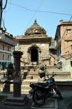 Старый индусский висок в Patan Стоковое Изображение