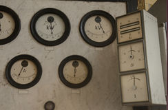 Старый диспетчерский пункт Стоковая Фотография