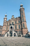 Старый исторический здание муниципалитет Стоковая Фотография