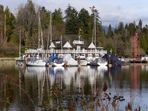 Старый исторический клуб rowing Ванкувера Стоковое Фото