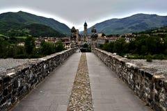 Старый исторический мост в своей красоте стоковые фото
