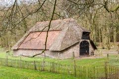 Старый исторический сарай овец Стоковые Изображения