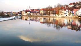 Старый исторический средневековый старый городок Стоковые Изображения