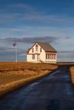 Старый исландский дом Стоковые Фотографии RF